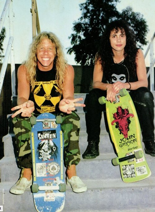 69theworld:  HETFIELD. HAMMETT.SKATE OR DIE