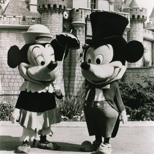 Minnie and Mickey c. 1955