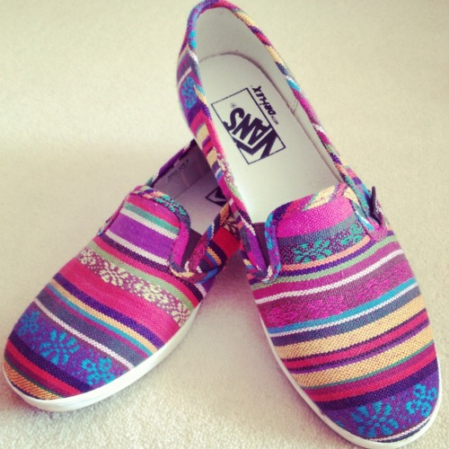amydarlow:  My new VANS   Gorgeous!!!