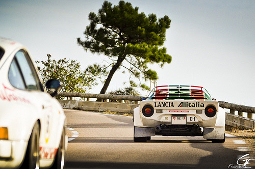 carpr0n:  Legendary Convoy Starring: Porsche 911 Carrera RS and Lancia Stratos (by Fiorano 2a)