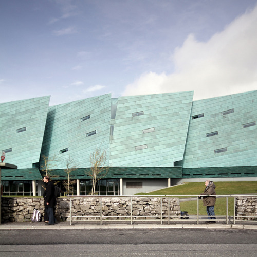 Flashback; Today, 2011  Murray O Laoire _ GMIT Learning Resource Centre _ Roadside on Flickr.