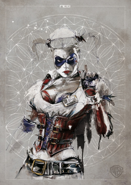 Harley Quinn - Warner Bros (commission) // neo-innov