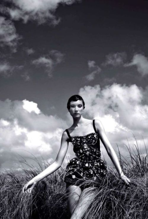"""Атлантик-Сити (Atlantic City)"" Vogue Russia, March 2012 photographer: Greg Lotus Jacquelyn Jablonski noirfacade: Jacquelyn Jablonski by Greg Lotus for Vogue Russia March 2012 // somethingvain"