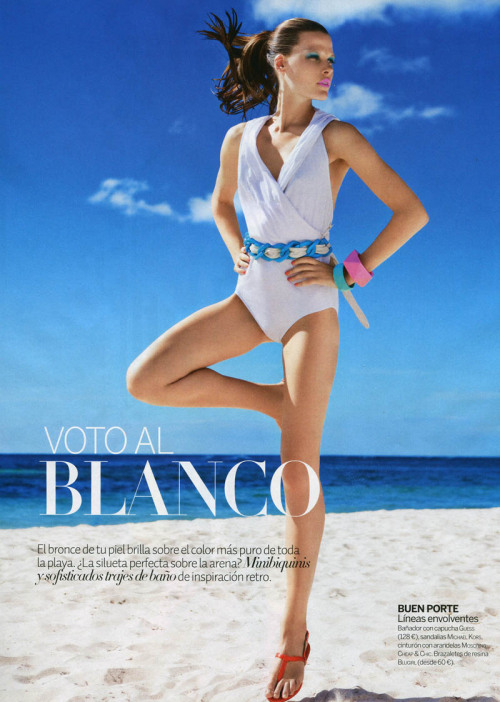 """Voto Al Blanco""Woman Spain, July 2011Model : Bekah Jenkins"