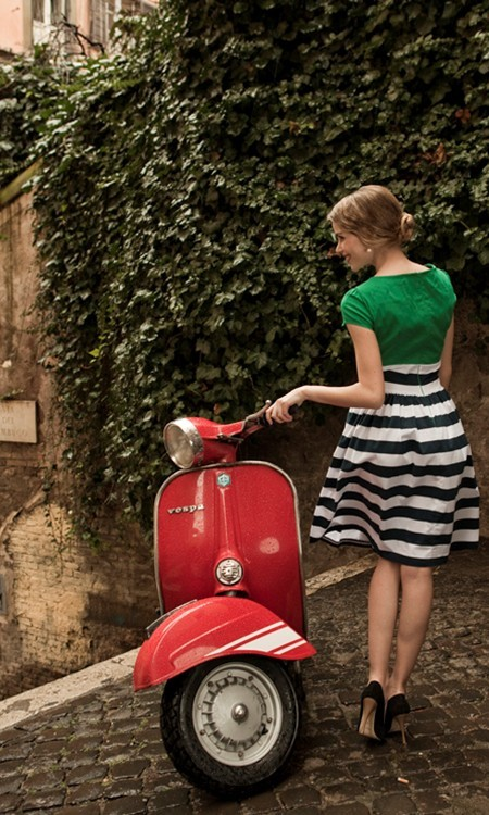 thingsifindbeautiful45:  Italian Vespa