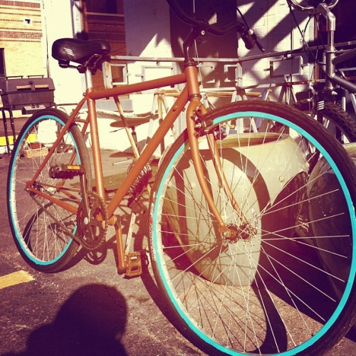 My #bike thanks @urthsurfer #kansascity #destroytroy (Taken with Instagram at Timeless Tattoo)