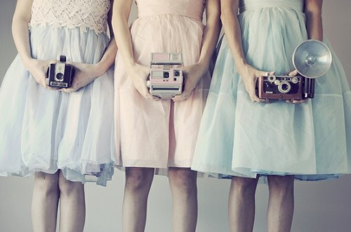 shadesofmonet:  Pastel dresses on Oh So Lovely Vintage via Singing in the Treetops