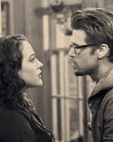 themurderheart:  5 shippers: A real couple [1/5]↳ Kat Dennings and Nick Zano.