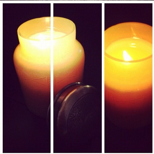 Mandarin Mint Scent… #candles #nosegasm #capriblue  (Taken with instagram)