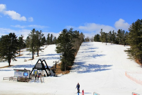 Your last days to ski, board, and snow tube at Nashoba Valley Ski Area, Pond Skim Tomorrow!