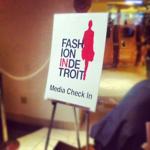 #detroit #fid2012 #fashionindetroit (Taken with instagram)