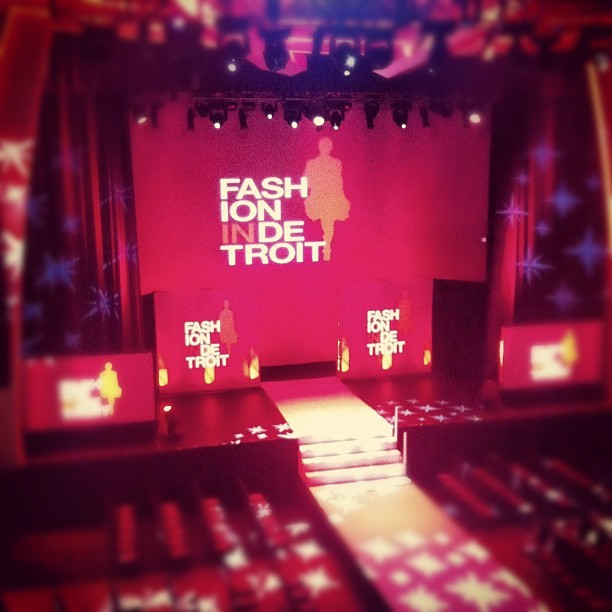 #fashionindetroit #fid2012 #detroit  (Taken with instagram)