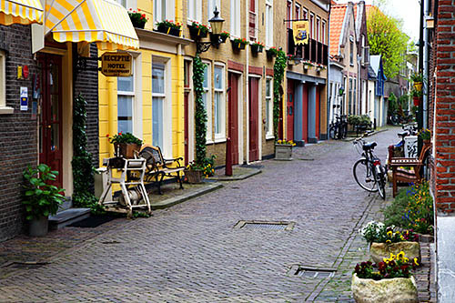 Pretty Sidestreet Delft Netherlands by Mark Sunderland on Flickr.