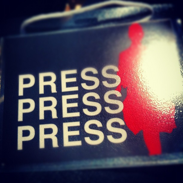 #detroit #fid2012 #fashionindetroit #press (Taken with instagram)