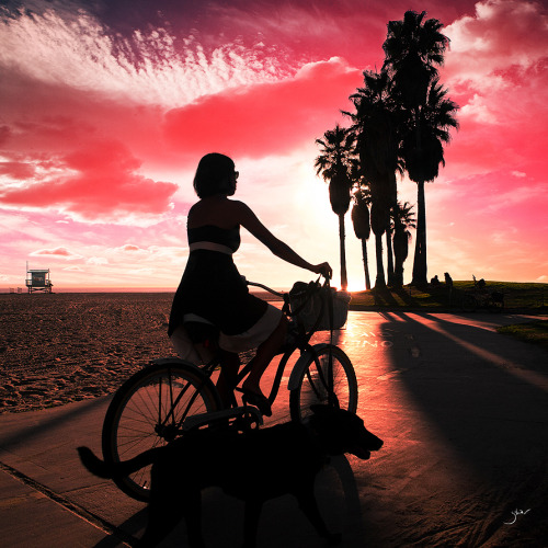 Twilight Trip   Check out Venice Beach gallery here! This photograph is available for purchase. Click here for available options.  (c) Zohar Lindenbaumhttp://zoharlindenbaum.com