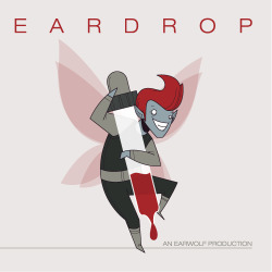 EARDROP LOGO PROCESS When Jeff told me about Eardrop I was stunned that no one had thought about doing this yet. I still think that dude's ahead of the game on that one… I started on this logo trying to go in as many directions as my little brain would allow. I showed the sketches and we decided to pursue two directions. A little work on the computer and I presented the team with The Wolf and The Sprite. They chose the sprite and that little devil is forever a piece of the Earwolf family! And THAT boys and girls are where baby sprites come from.