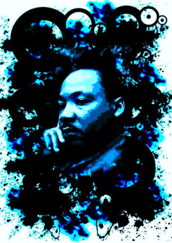 Martin Luther King by Remi McQuen The first thing I ever made on Photoshop :P