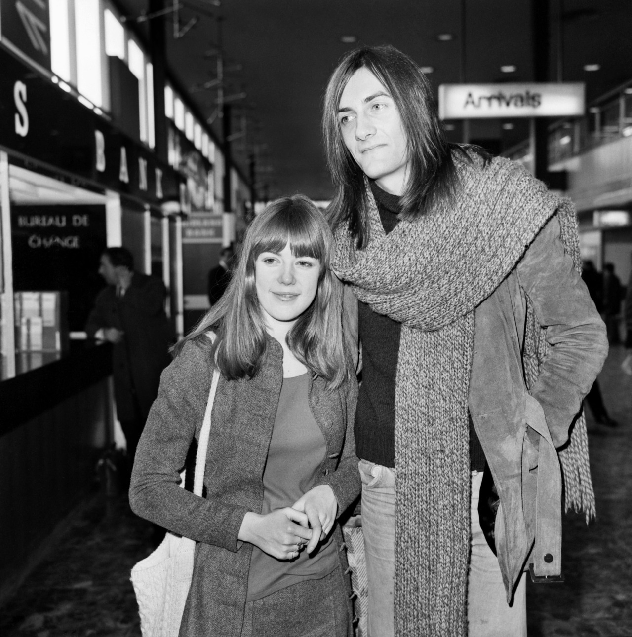 Mick Fleetwood and Jenny Boyd in 1970.