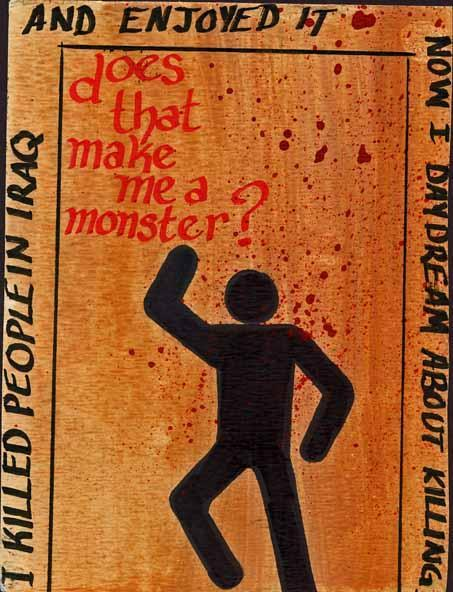 Yes. But monsters are made, not born.