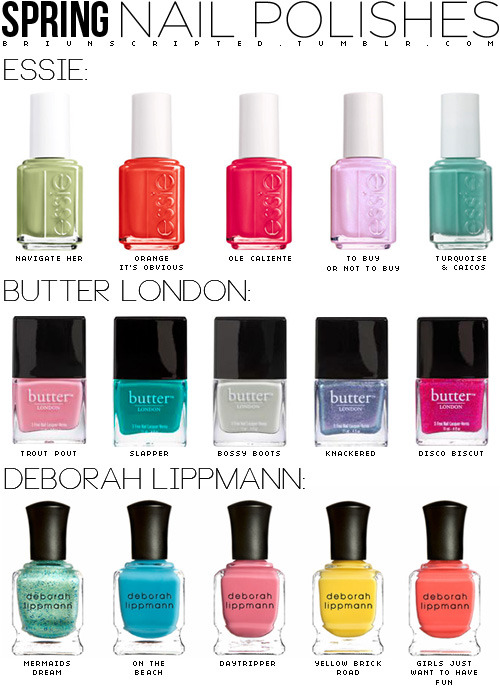 briunscripted:   i love the new nail trends for spring!