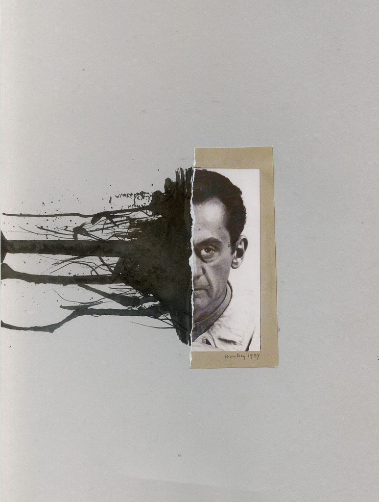Richard Vergez. Man Ray, 1947. Collage with ink. http://www.flickr.com/photos/richardvergez/with/5308285863/