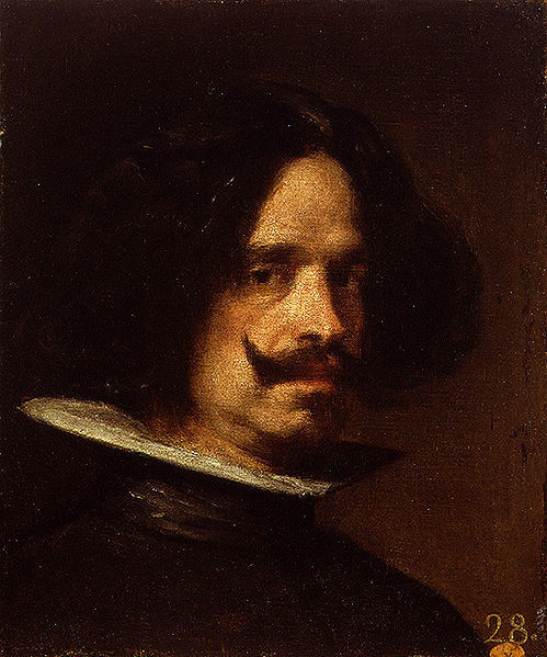 Self Portrait by Diego Velazquez, c.1640. Here is Mr Velazquez looking rather suave indeed. I'm especially feeling the collar, it makes his head look as though it is being served on a plate … delicioso!