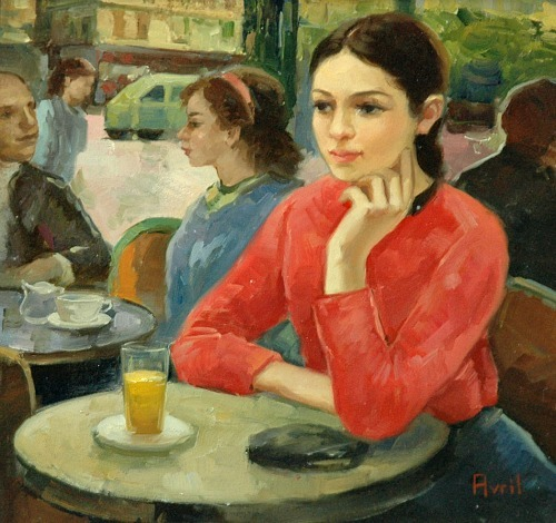 Madeleine Avril Afternoon Drink 20th century