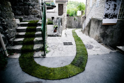 Wow! Que bello proyecto The Green Carpet – In Jaujac, France