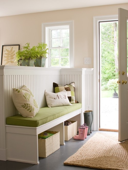 pastel entryway from bhg.com