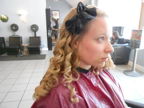 My hair for Prom last year. :)