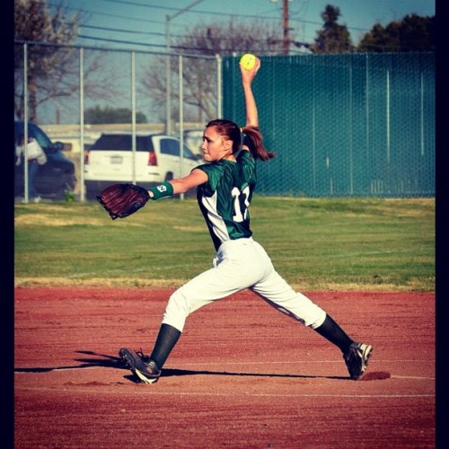 #softball #jv #pitcher #glove #field #nikon #d7000 #dslr #sigma #pitching #athlete #cleats #photography #juniorvarsity #sophomore  (Taken with Instagram at Central Valley High School)