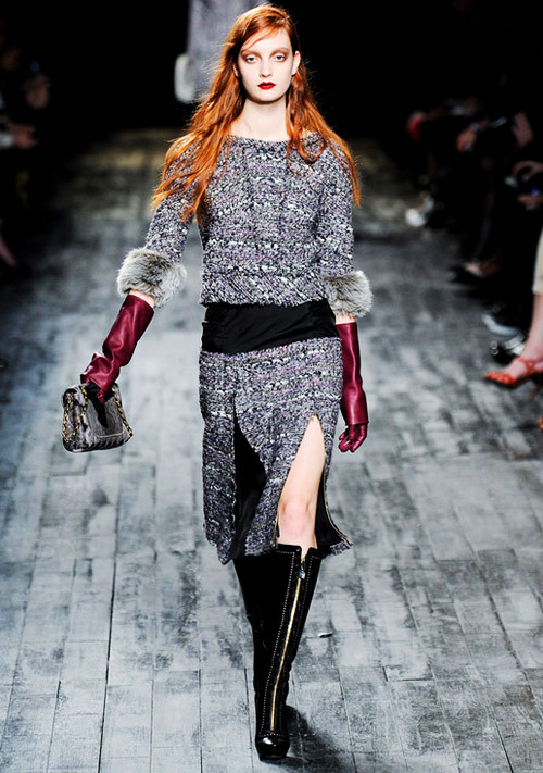 Nina Ricci Fall-Winter 2012.