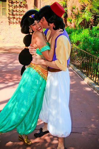 disneyverse:  Jasmine and Aladdin (by abelle2)