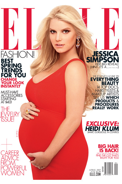 Jessica Simpson Covers Elle [US], April 2012 On newsstands March 20!