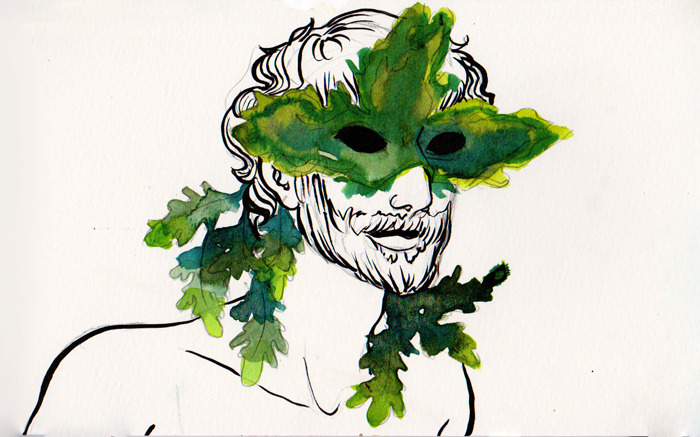 a Green Man of some sort ~