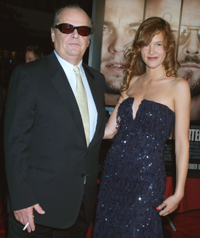 Jack Nicholson and Paz De La Huerta. The greatest celebrity couple that ever walked the face of the earth.