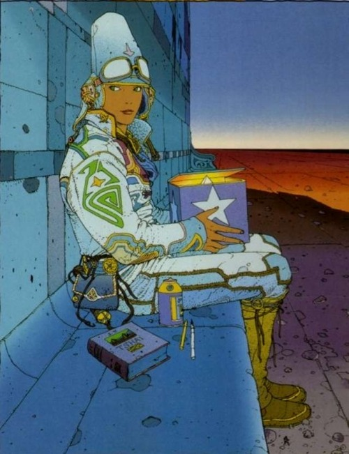 RIP Moebius A man who stood out in time, leaves us with his immortal artwork.