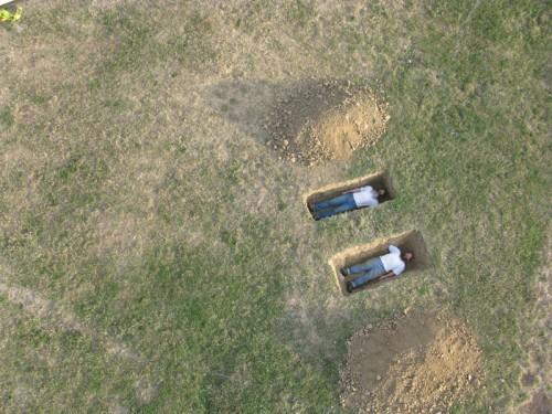 vadime:  Miller & ShellaBarger, Untitled (Graves) (2010)
