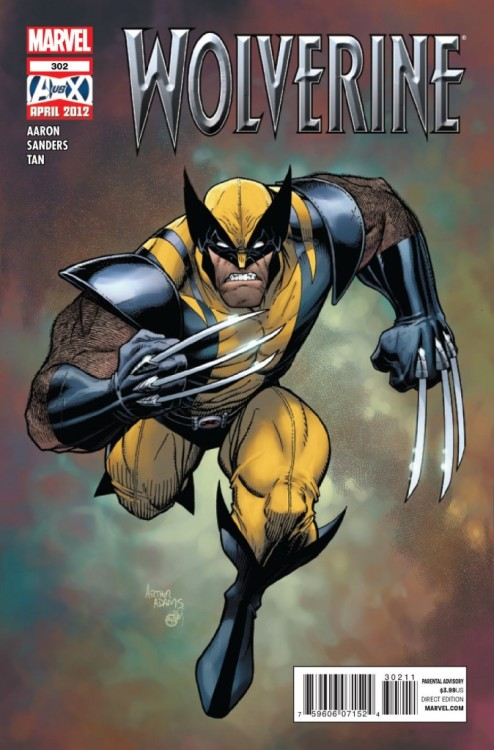 Wolverine v2 #302, May 2012, written by Jason Aaron, penciled by Billy Tan and Steve Sanders