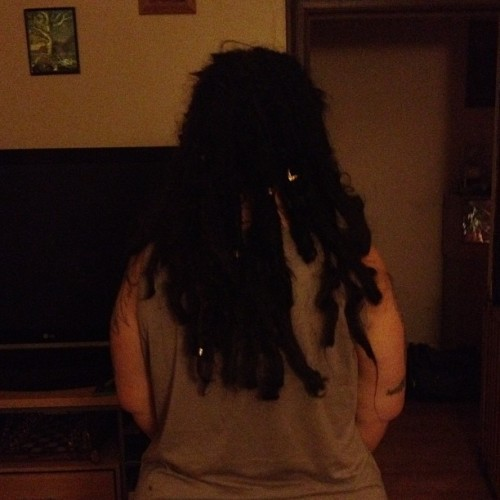 Back #dreadlocks #extentions (Taken with instagram)