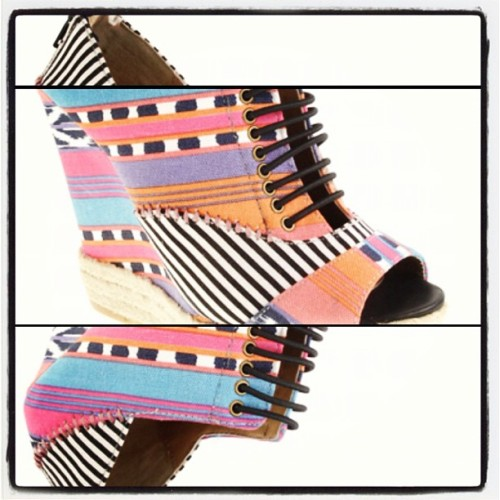 #day10: ordered a pair of #loud #wedges. 😍 #chineselaundry #fashion #marchphotoaday #challenge  (Taken with instagram)