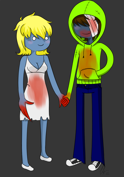 ((me and my girlfriend))