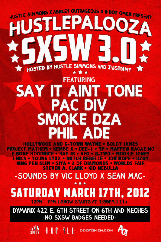 "CATCH ME ON THAT ""SXSW SCENE"" DOWN AUSTIN, TX… #THATSHITCCRRAAYY!!!"