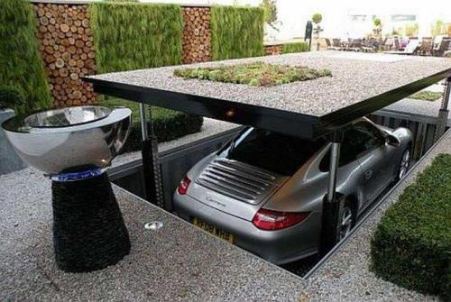 perfectleyimperfectme:  Coolest Garage EVER.