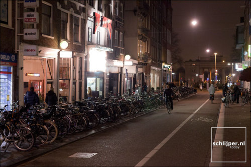 Amsterdam - Bicycles and a night economy! Photo: Thomas Schlijper