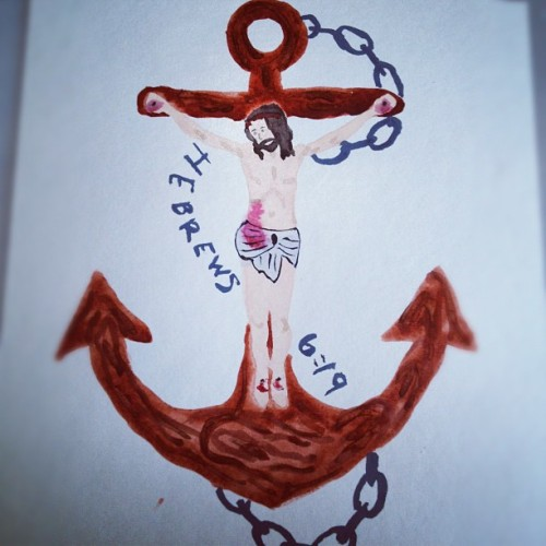 This hope is a strong anchor for the souls. It leads us through the curtain into God's inner sanctuary.