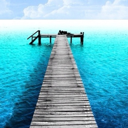 #beach #water #blue #love #sky #bridge #pretty #cool #beautiful #awesome #blueSky (Tomada con instagram)