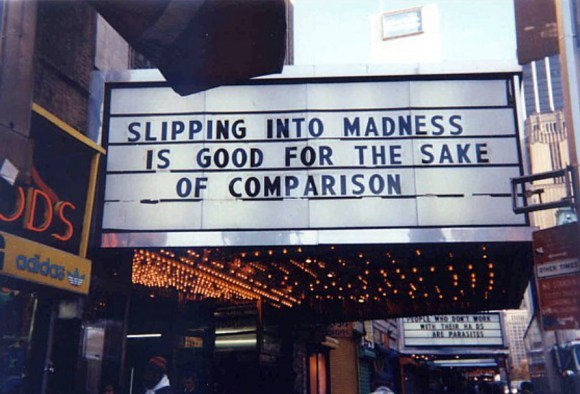 "falsealarms:  earlyfrost: from Jenny Holzer's 1993 installation ""Marquees"""