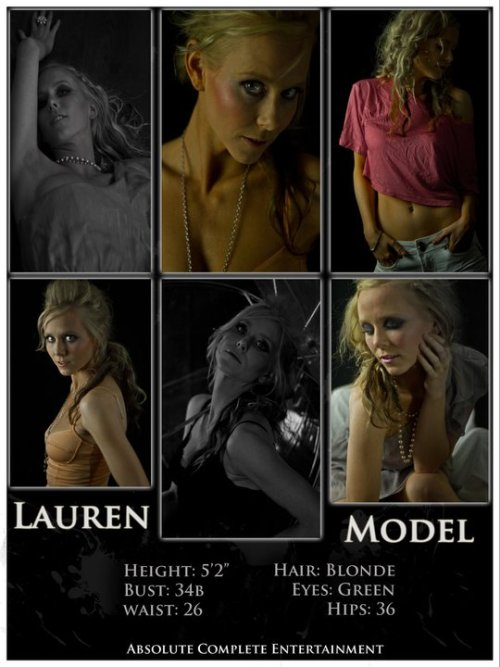 Lauren's Composite Card.