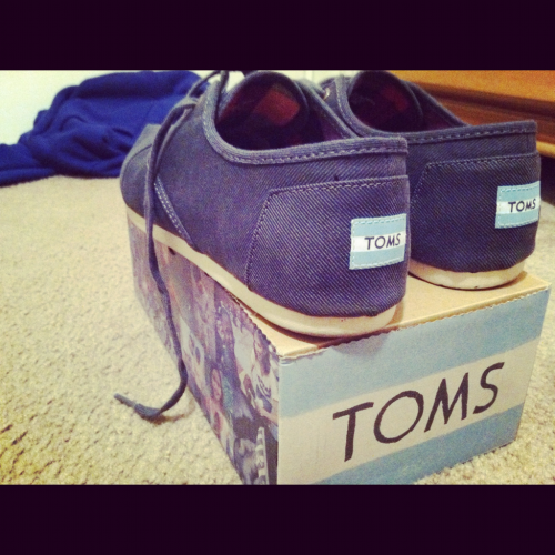My new toms:)